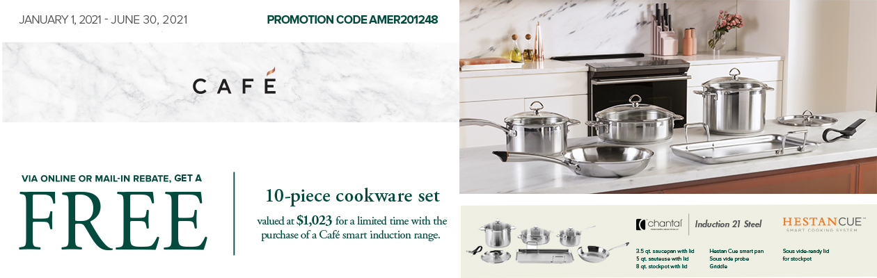 Cafe 10 Piece Cookware Set
