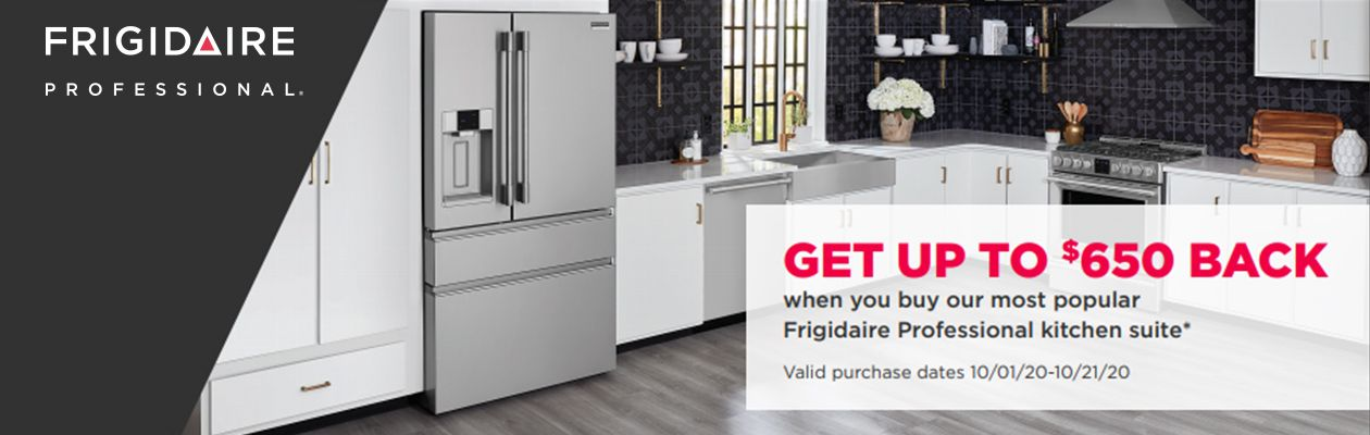 Frigidaire Bonus Buy Rebate