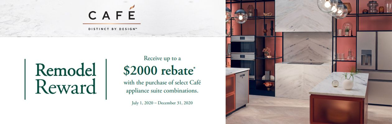 Cafe Remodel Reward Rebate