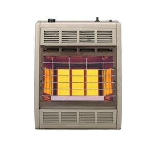 Empire 18000 BTU Vent Free Infrared Thermostatic Propane Heater, SR18TLP