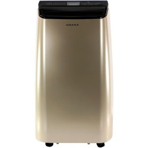 AMANA AMAP121AD-2 12000 BTU Portable Air Conditioner Gold and Black