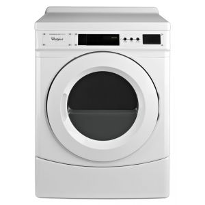 """WHIRLPOOL CED9160GW - 27"""" Commercial Electric Front-Load Dryer, Non-Vend"""