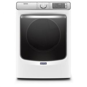 MAYTAG MED8630HW - Smart Front Load Electric Dryer with Extra Power and Advanced Moisture Sensing with industry-exclusive extra moisture sensor - 7.3 cu. ft.