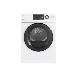 """GE APPLIANCES GFD14ESSNWW - GE(R) 24"""" 4.3 Cu.Ft. Front Load Vented Electric Dryer with Stainless Steel Basket"""