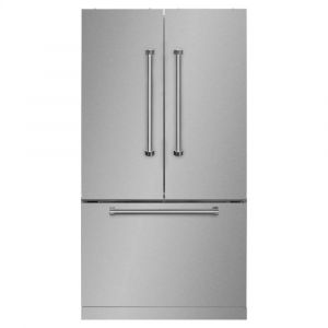"MARVEL AMPROFD23SS - Professional 36"" French Door Refrigerator with Bottom Freezer - 36"" French Door Refrigerator with Bottom Freezer"