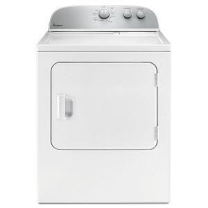 WHIRLPOOL WED4985EW - 5.9 cu.ft Top Load Electric Dryer with AutoDry Drying System