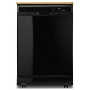 WHIRLPOOL WDP370PAHB - Heavy-Duty Dishwasher with 1-Hour Wash Cycle