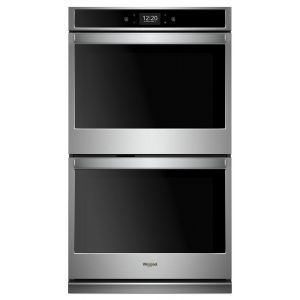 WHIRLPOOL WOD77EC7HS - 8.6 cu. ft. Smart Double Wall Oven with True Convection Cooking
