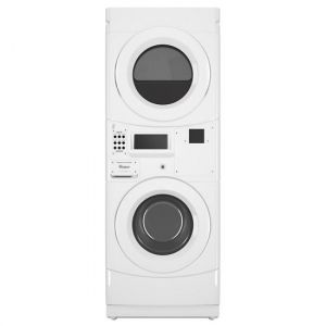 WHIRLPOOL CGT9100GQ - Whirlpool(R) Commercial Gas Stack Washer/Dryer, Card Reader-Ready - White