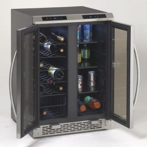 AVANTI WBV19DZ - Side-by-Side Dual Zone Wine/Beverage Cooler