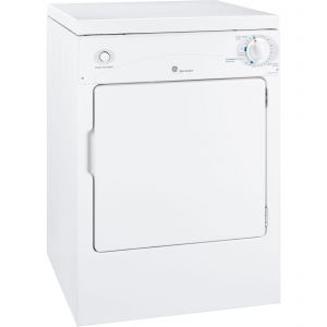 GE APPLIANCES DSKP333ECWW - GE Spacemaker(R) 120V 3.6 cu. ft. Capacity Portable Electric Dryer