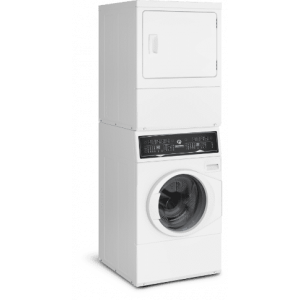 SPEED QUEEN SF7003WG - White Stacked Washer/Dryer: SF7 (Gas)