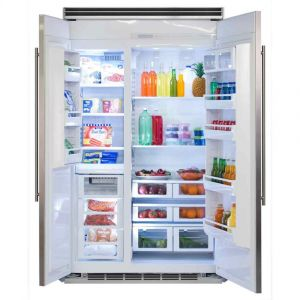 """MARVEL MP48SS2NP - Marvel Professional Built-In 48"""" Side-by-Side Refrigerator Freezer - Marvel Professional Built-In 48"""" Side-by-Side Refrigerator Freezer - Panel-Ready Overlay Doors*"""