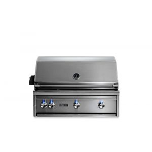 "LYNX L36R3LP - 36"" Lynx Professional Built In Grill with 3 Ceramic Burners and Rotisserie, LP"