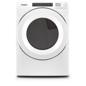 WHIRLPOOL WED5620HW - 7.4 cu. ft. Front Load Electric Dryer with Intuitive Touch Controls