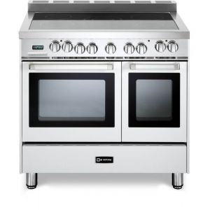 """VERONA VEFSEE365DW - White 36"""" Electric Double Oven Range"""