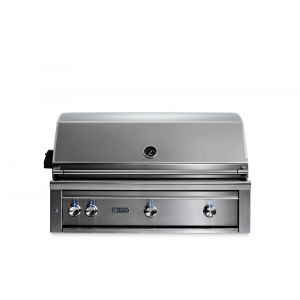 """LYNX L42TRNG - 42"""" Lynx Professional Built In Grill with 1 Trident and 2 Ceramic Burners and Rotisserie, NG"""