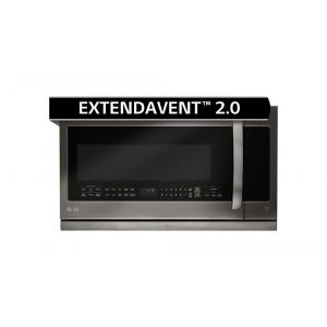 LG LMHM2237BD - LG Black Stainless Steel Series 2.2 cu.ft. Over-the-Range Microwave Oven