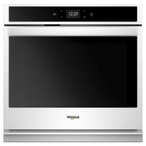 WHIRLPOOL WOS51EC7HW - 4.3 cu. ft. Smart Single Wall Oven with Touchscreen