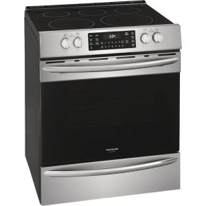 FRIGIDAIRE FGEH3047VF - Frigidaire Gallery 30'' Front Control Electric Range with Air Fry