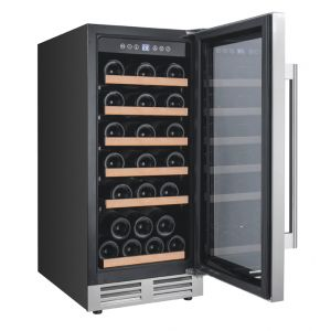 AVANTI WCF281E3SS - 28 Bottle Designer Series Wine Chiller w/Seamless Door