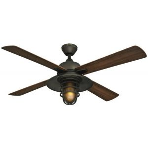 WESTINGHOUSE LIGHTING 7204300 - Great Falls 52-inch Abs Four-blade Indoor/outdoor Ceiling Fan