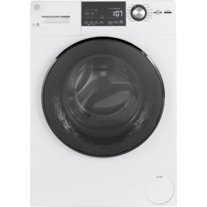 "GE APPLIANCES GFW148SSMWW - GE(R) 24"" 2.4 Cu. Ft. Front Load Washer with Steam"