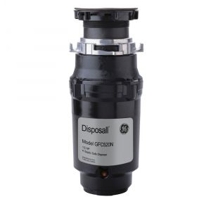 GE APPLIANCES GFC520N - GE(R) 1/2 HP Continuous Feed Garbage Disposer - Non-Corded