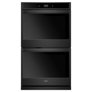 WHIRLPOOL WOD51EC7HB - 8.6 cu. ft. Smart Double Wall Oven with Touchscreen Black