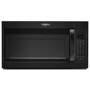 WHIRLPOOL WMH32519HB - 1.9 cu. ft. Capacity Steam Microwave with Sensor Cooking
