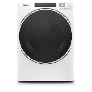 WHIRLPOOL WED6620HW - 7.4 cu. ft. Front Load Electric Dryer with Steam Cycles