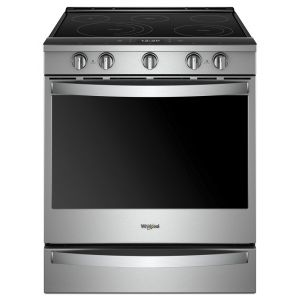 WHIRLPOOL WEE750H0HZ - 6.4 cu. ft. Smart Slide-in Electric Range with Scan-to-Cook Technology