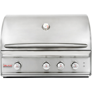 BLAZE GRILLS BLZ3PROLP - Blaze Professional 34-Inch 3 Burner Built-In Gas Grill With Rear Infrared Burner, With Fuel type - Propane