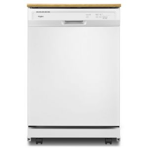 WHIRLPOOL WDP370PAHW - Heavy-Duty Dishwasher with 1-Hour Wash Cycle