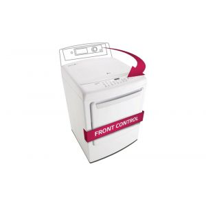 LG DLG1502W - 7.3 cu. ft. Ultra Large Capacity High Efficiency Front Control Dryer w/ NFC Tag On