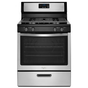 WHIRLPOOL WFG320M0BS - 5.1 cu. ft. Freestanding Gas Range with Under-Oven Broiler
