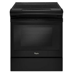 WHIRLPOOL WEE510S0FB - 4.8 cu. ft. Guided Electric Front Control Range With The Easy-Wipe Ceramic Glass Cooktop