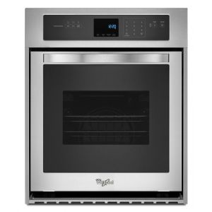 WHIRLPOOL WOS51ES4ES - 3.1 Cu. Ft. Single Wall Oven with High-Heat Self-Cleaning System