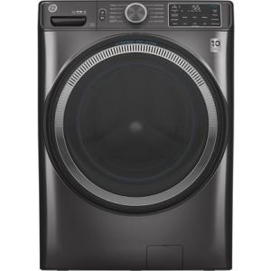 "GE GFW550SPNDG - Front Load 28"" Washer 4.8 Cu Ft. Time Saver, PreWash, UFV"