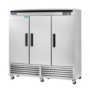 """MAXX Ice MCF-72FD 81"""" Reach-In Freezer with 72 Cu. Ft. Capacity in Stainless Steel"""