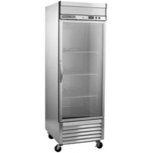 """MAXX Ice MXSR-23GD 27"""" Select Series Glass Door Reach-In Refrigerator with 19.3 cu. ft. Capacity in Stainless Steel"""