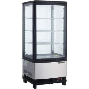 """MAXX Ice MECR-32D 17"""" X Series Countertop Refrigerator with 3.03 cu. ft. Capacity in Stainless Steel"""