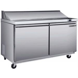 """MAXX Ice MXSR60S 62"""" Sandwich/Salad Station with 17.83 cu. ft. Capacity in Stainless Steel"""