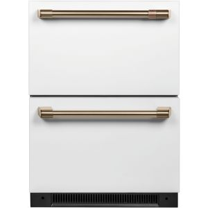 CAFE CDE06RP4NW2 5.7 Cu. Ft. Built-In Dual-Drawer Refrigerator