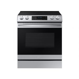 SAMSUNG NE63T8511SS 30 Inch Smart Slide-in Electric Range with 5 Elements