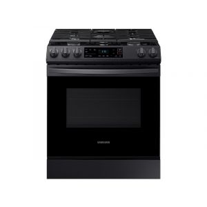 SAMSUNG NX60T8111SG 30 Inch Smart Slide-in Gas Range with 5 Sealed