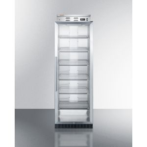 SUMMIT PHC101G - Single Chamber Blanket Warmer With Glass Door, Stainless Steel Interior, Black Cabinet, Digital Thermostat and Lock