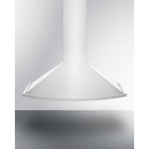 SUMMIT SEH2636ADA - 36 Inch ADA Compliant European Wall-mounted Range Hood In Stainless Steel With Remote Wall Switch