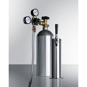 """SUMMIT KITCF - Tapping Equipment With Nitrogen Tank To Serve Cold Brew """"flat"""" Iced Coffee From Most Beer Dispensers"""
