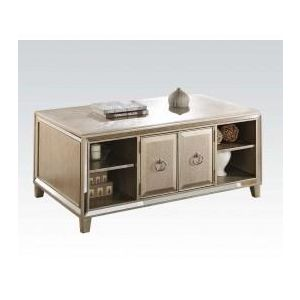 ACME FURNITURE INC 81200 - Antique Gold Coffee Table